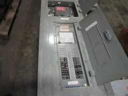 square d lighting contactor panel equipment resale inc square d panel 100amp lighting contactor