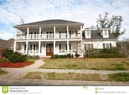 american home southern style mansion stock photo image 23797898