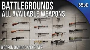 pubg weapon stats pubg complete all in one weapons playerunknown s battlegrounds