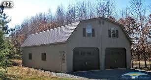 gambrel garage gambrel roof pole barn kits rv with car garage