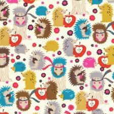 hedgehog wrapping paper cx4422 hedgehog meadow forest porcupine animals