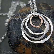 double circle long necklace images Best 25 circle necklace ideas gold circle necklace jpg