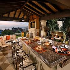 Cheap Outdoor Kitchen Ideas Kitchen Awesome 95 Cool Outdoor Designs Digsdigs Inside Out Door