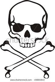 easy skull designs for beginners