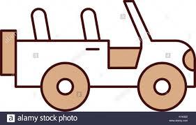 safari jeep front clipart pick up trailer icon vector stock photos u0026 pick up trailer icon
