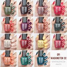 opi washington dc fall winter 2016 swatches u0026 review nailsbyic