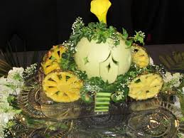 Cinderella Carriage Centerpieces by Hand Carved Cinderella Horse Carriage To Be Used As A Fresh Fruit