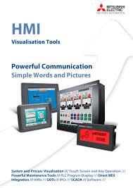 mitsubishi electric automation hmi family mitsubishi automation pdf catalogue technical
