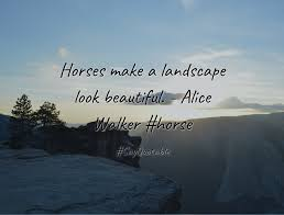 Quotes About Landscape by Quotes About Horses Make A Landscape Look Beautiful Alice