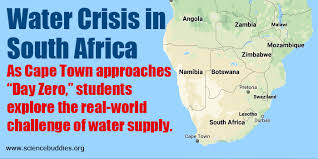 Challenge Of Water Critical Water Shortage In South Africa