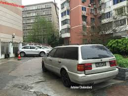 spotted in china volkswagen passat b4 gl wagon carnewschina com