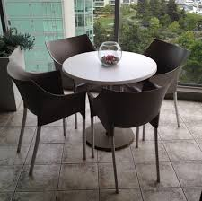 Outdoor Dining Area With No Chairs Patio Table And Kartell Dr No Chairs Flock Interiors