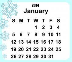 free printable 2014 calendar template plain font free