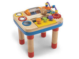 wooden activity table for amazon com little tikes busy baby activity table toys games