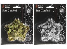 Christmas Decorations Wholesale Uk by Star Confetti Christmas Xmas Decorations Gold Or Silver 351500 Uk