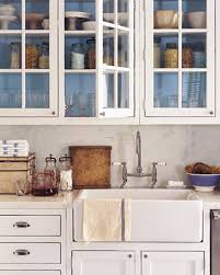 White And Blue Kitchen Cabinets by How To Create Antique White Kitchen Cabinets U2014 Decor Trends