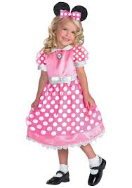 Halloween Costumes Mickey Minnie Mouse Pink Minnie Mouse Costume