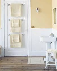 bathroom organizers martha stewart towel bar trio