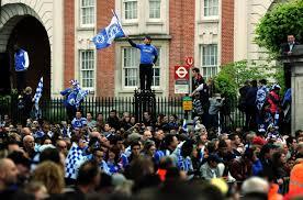 Chelsea Parade Soccer U2013 Chelsea Uefa Champions League And Fa Cup Parade U2013 London