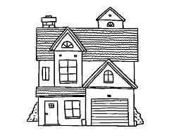 casa disegno disegno di casa di famiglia americana da colorare acolore