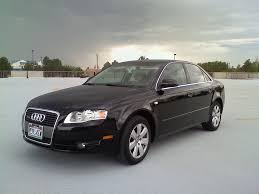2003 Audi A4 Sedan Audi A4 2007 Black