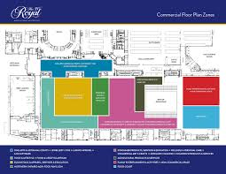Royal Castle Floor Plan by The Royal Commercial Exhibitors