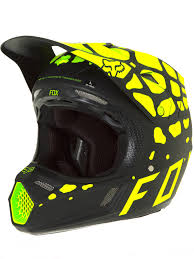 motocross helmets australia fox black yellow 2017 v3 grav mx helmet fox freestylextreme
