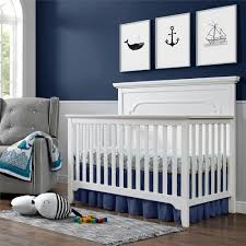 White 4 In 1 Convertible Crib by Dorel Living Baby Relax Ferris 4 In 1 Convertible Crib Pure White
