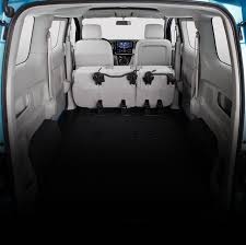 nissan quest seats fold down nissan e nv200 small van concept nissan usa