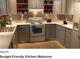 how to paint mobile home cabinets budget friendly kitchen makeover