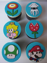 mario cake toppers foodista mario brothers cupcake toppers