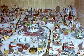 christmas villages christmas pictures