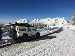 land rover snow early snow in morzine a ski and snowboard heaven more mountain