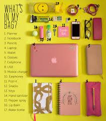 las cosas que hay en mi mochila guía antes de irte a la escuela