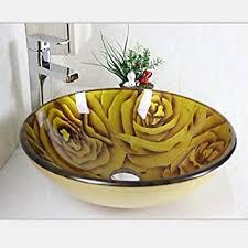 schnã ppchen sofa gelbe carving runde glas schiff spülbecken mit wasserhahn set