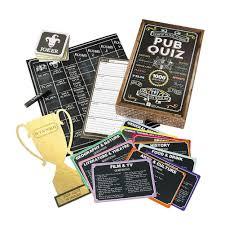 amazon com talking tables ultimate pub quiz trivia game set