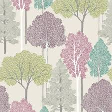 arthouse ellwood tree pattern forest leaves glitter wallpaper 670000