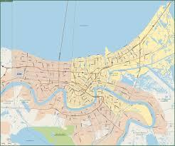 orleans map orleans metro map digital vector creative
