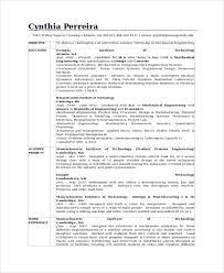 Mit Sample Resume by Mechanical Design Engineer Sample Resume