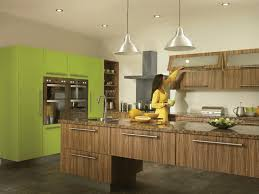 Lime Green Kitchen Cabinets Entrancing Island Pendant Lights For Kitchen With Frosted Glass