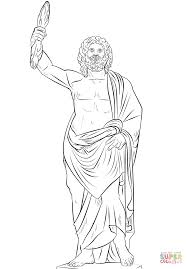 pretentious design ideas zeus coloring pages 6 zeus the greek king