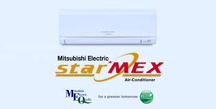 mitsubishi electric ac remote starmex
