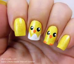 Baby Nail Art Design 39 Rocking Easter Nail Art Designs Nail Design Ideaz
