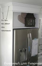 How To Build A Cabinet Box by Enclosed Refrigerator Cabinet You Are Here Home U003e Tall Cabinets