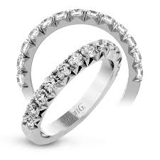platinum anniversary band with stunning round diamonds