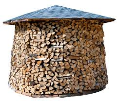 wood store custom built logstore for your firewood