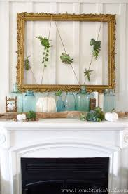 173 best mantels images on pinterest fireplaces mantle ideas fall decorating home tour fall decor ideas