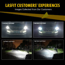 lasfit 9005 hb3 led headlight bulb for toyota camry corolla 2001