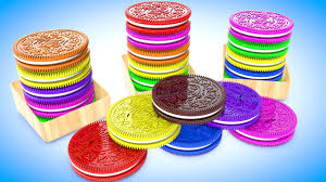 learn colors and numbers for children with oreo cookies 3d kids
