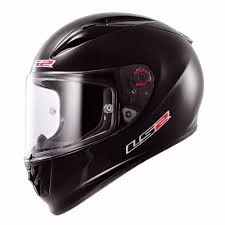 ls2 motocross helmet arrow solid black motorcycle helmet